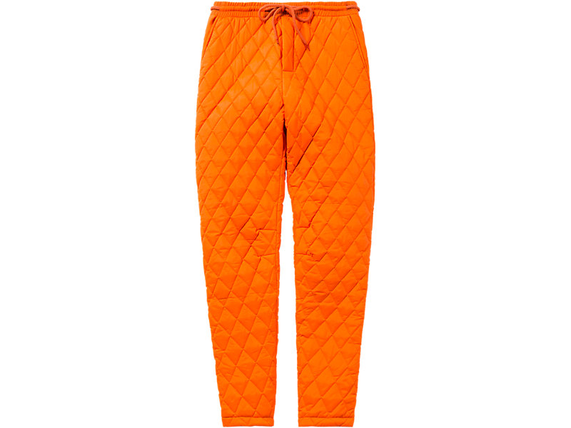 WS QUILTED PANT ORANGE 1 FT