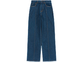 Front Top view of WS DENIM PANT, PEACOAT