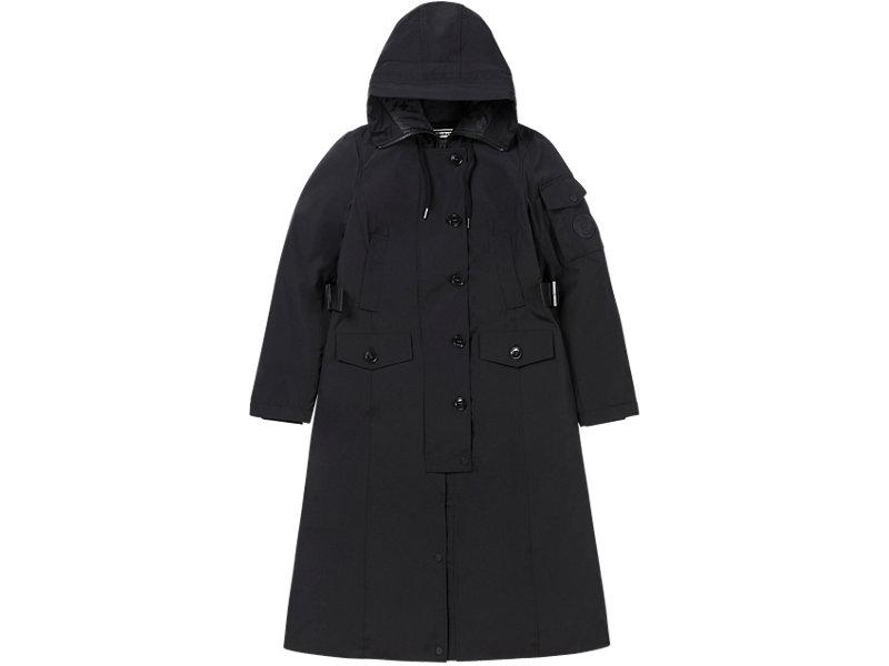 Long Padded Coat PERFORMANCE BLACK 1 FT