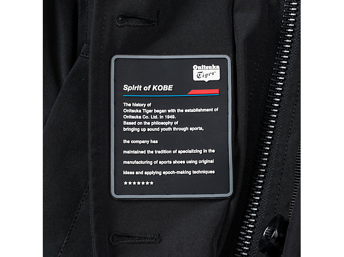 Alternative image view of WS LONG PADDED COAT, PERFORMANCE BLACK