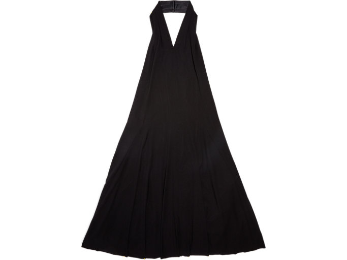 Front Top view of WS DRESS, PERFORMANCE BLACK