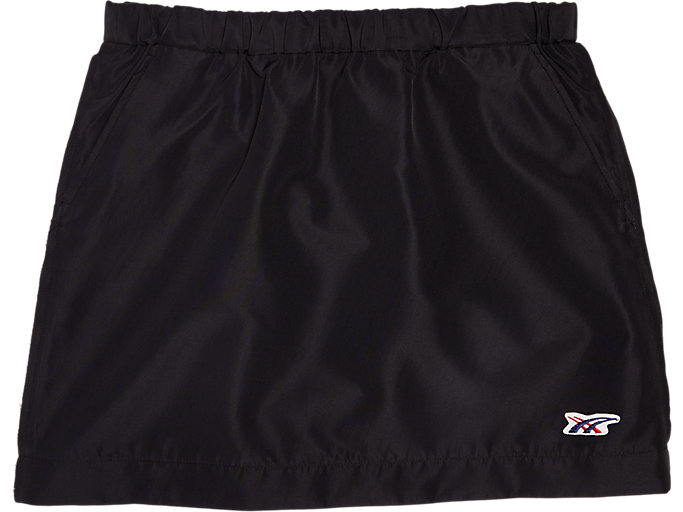 Front Top view of WS SKIRT, PERFORMANCE BLACK