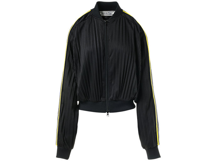 Front Top view of WS BLOUSON, PERFORMANCE BLACK