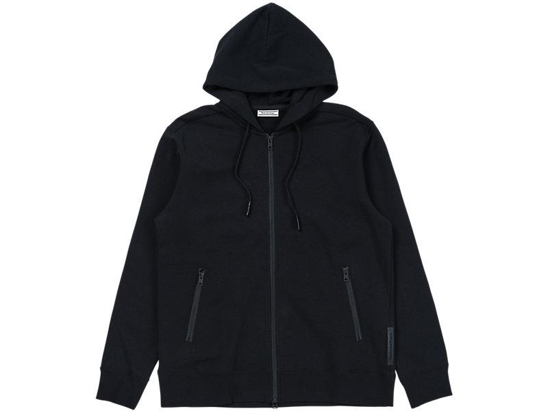 Sweat Zip Hoodie Performance Black 1 FT