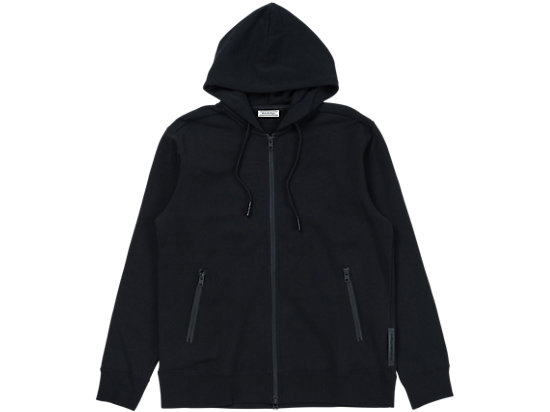 SWEAT ZIP HOODIE, PERFORMANCE BLACK