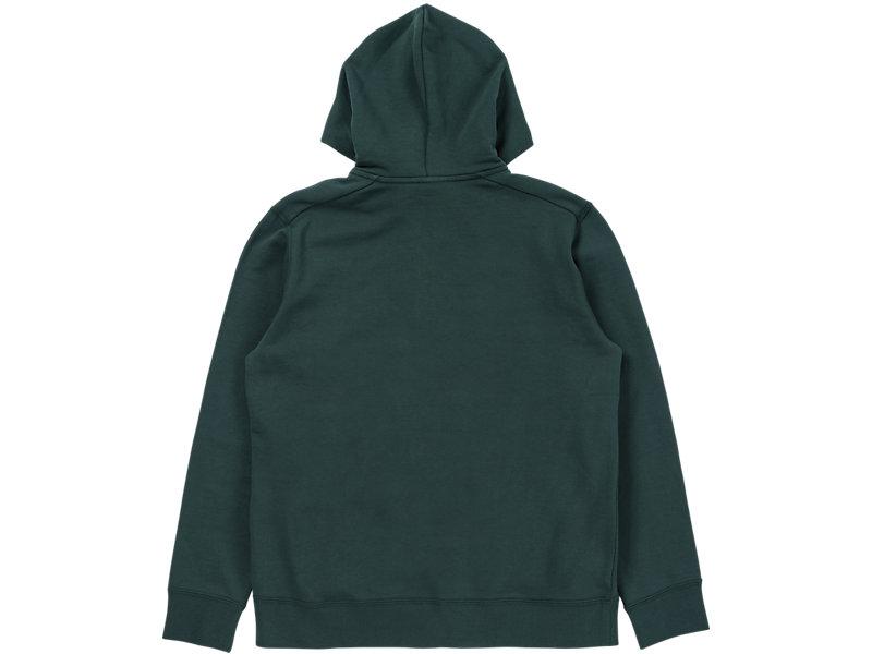 Sweat Zip Hoodie Hunter Green 5 BK