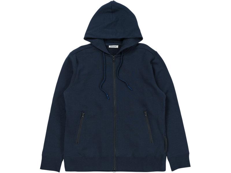 Sweat Zip Hoodie Peacoat 1 FT