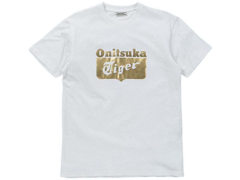 LOGO T-SHIRT REAL WHITE/RICH GOLD 1 FT