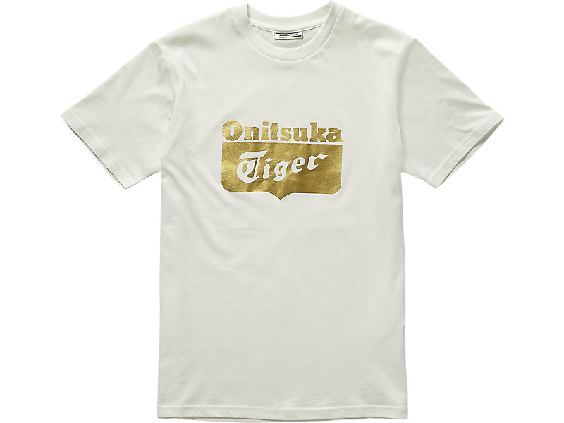 LOGO T-SHIRT REAL WHITE/RICH GOLD 1 FT