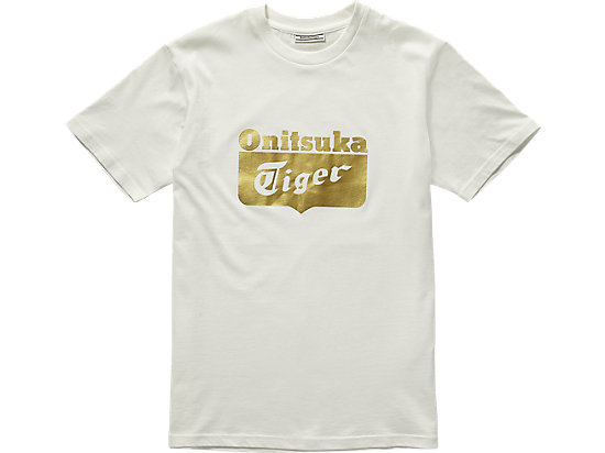 LOGO T-SHIRT WHITE/GOLD