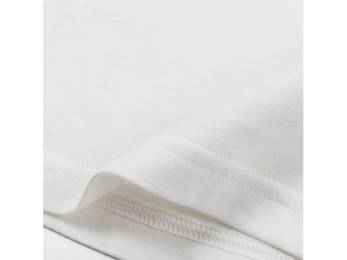Alternative image view of LOGO TEE, REAL WHITE/PERFORMANCE BLACK