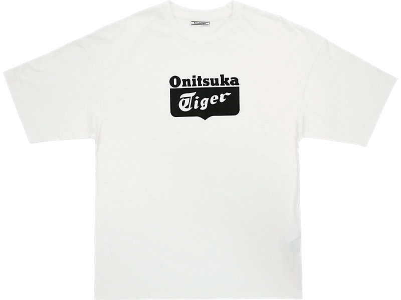 LOGO TEE REAL WHITE/PERFORMANCE BLACK 1 FT