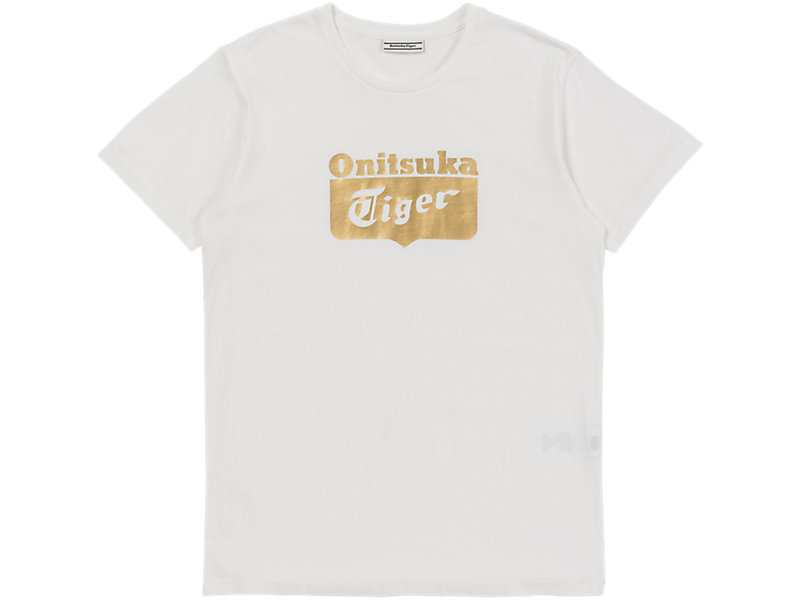 LOGO TEE WHITE/GOLD 1 FT