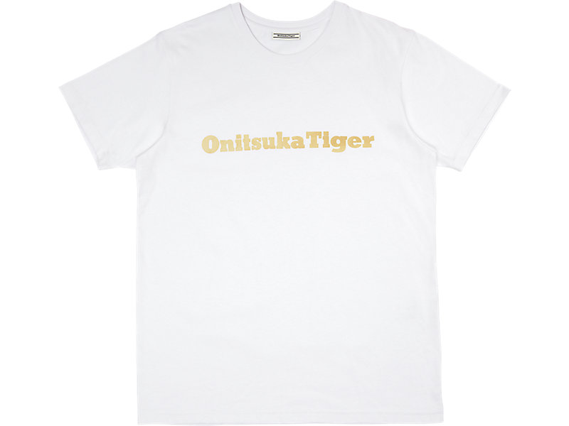 GRAPHIC TEE WHITE/GOLD 1 FT