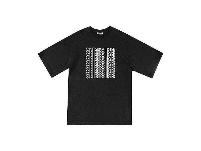 GRAPHIC TEE BLACK/WHITE 1 FT
