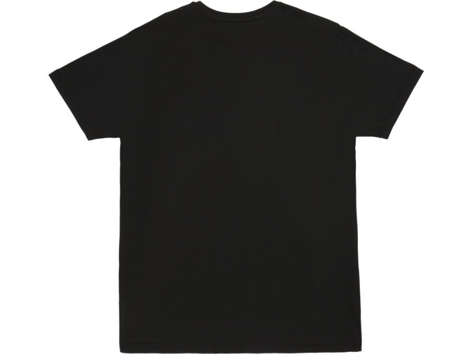 Back view of GRAPHIC TEE 3, PERFORMANCE BLACK