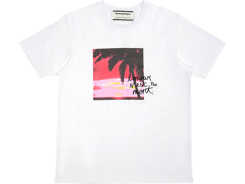 Graphic Tee Real White 1 FT