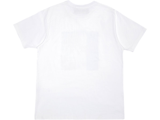 Back view of GRAPHIC TEE, REAL WHITE