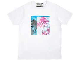 GRAPHIC TEE 3, REAL WHITE