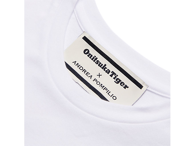 Alternative image view of GRAPHIC TEE, REAL WHITE