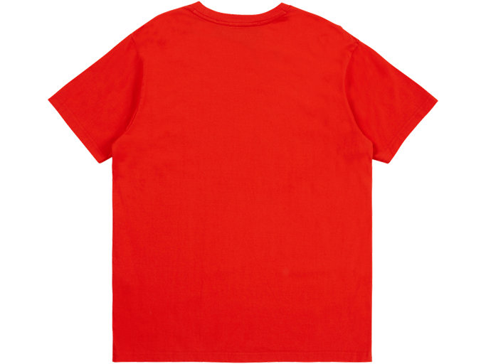 Back view of GRAPHIC TEE, CHERRY TOMATO