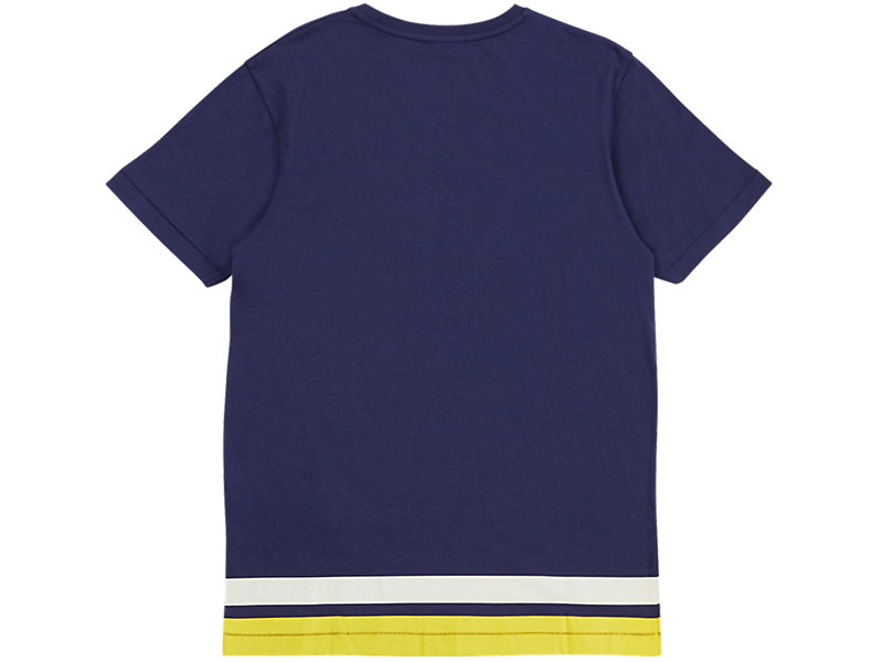 STRIPED TEE NAVY 5 BK