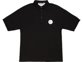 POLO SHIRT, PERFORMANCE BLACK