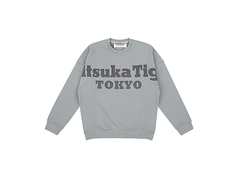 BIG PRINTED SWEAT STONE GREY 1 FT