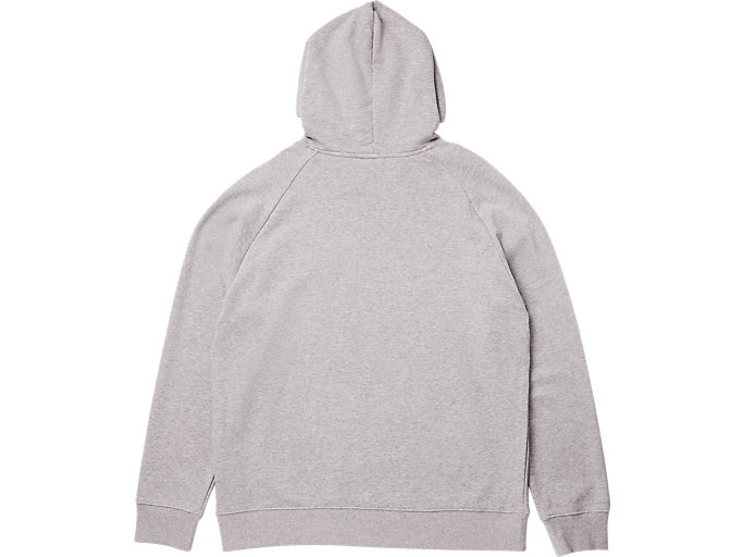 Back view of SWEAT HOODIE, STONE GREY