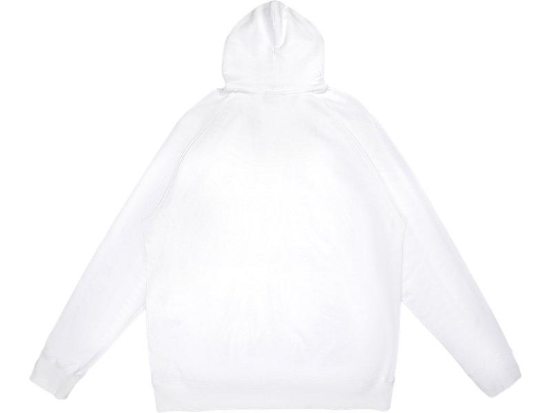 SWEAT HOODIE WHITE 5 BK