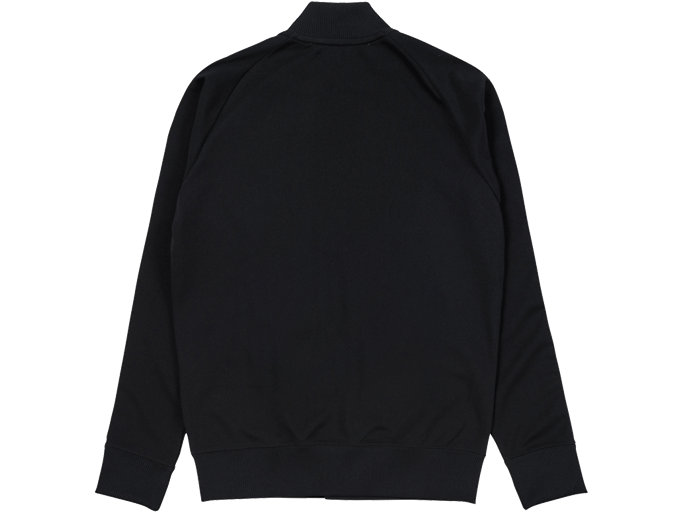 Back view of TRACK TOP, PERFORMANCE BLACK