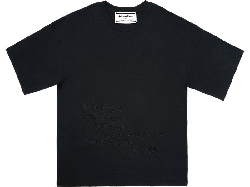 GRAPHIC T-SHIRT PERFORMANCE BLACK 1 FT