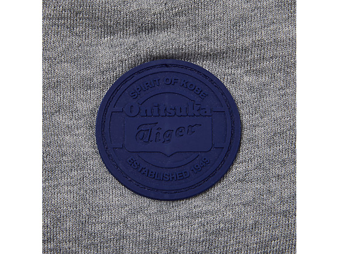 Alternative image view of PATCH PULL-OVER, MID GREY