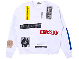 COLLAGE PULL-OVER