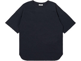 Front Top view of TEE, PERFORMANCE BLACK
