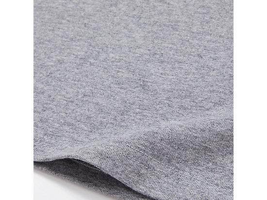 中性LOGO短袖上衣 MID GREY/BLACK