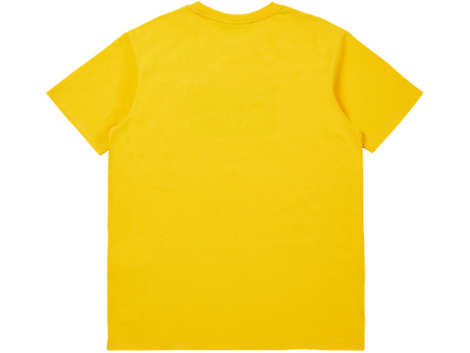 Back view of Logo T-Shirt, YELLOW/PERFORMANCE BLACK