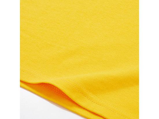 中性LOGO短袖上衣 YELLOW/BLACK