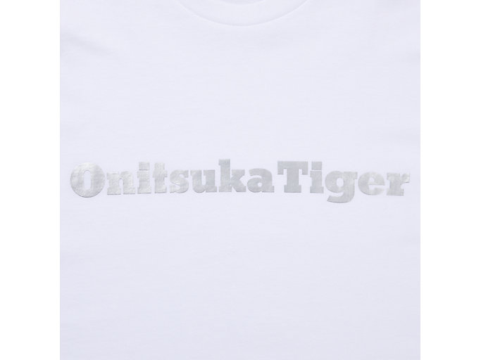 Alternative image view of LOGO TEE, REAL WHITE/SILVER