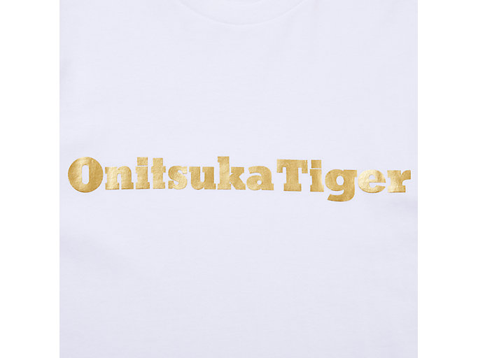 Alternative image view of LOGO TEE, REAL WHITE/RICH GOLD