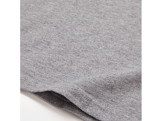 Alternative image view of WASHED GRAPHIC TEE, MID GREY