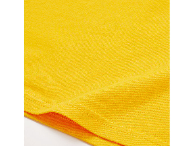Alternative image view of WASHED GRAPHIC TEE, YELLOW