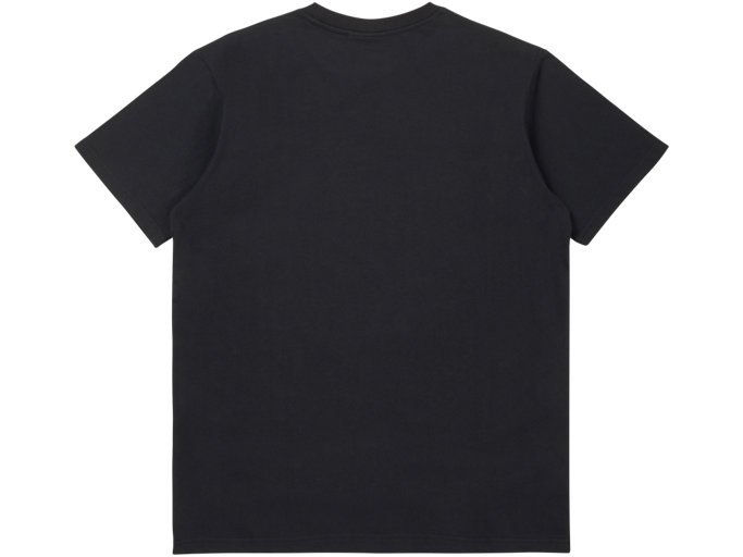 Back view of GRAPHIC TEE, PERFORMANCE BLACK