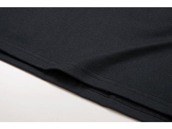 中性短袖上衣 BLACK