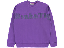 Front Top view of SWEAT TOP, VIOLET