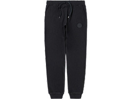 Front Top view of SWEAT PANT, PERFORMANCE BLACK