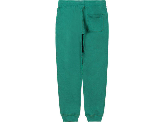 Back view of SWEAT PANT, GREEN