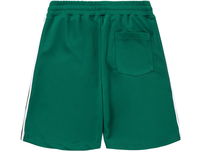 Back view of SHORT, GREEN