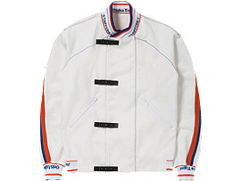 Front Top view of TRACK TOP, REAL WHITE