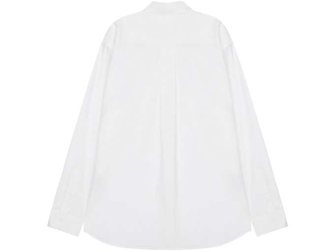Back view of Shirt, REAL WHITE